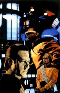 ST: TNG: Perchance to Dream #1 Cover Artwork
