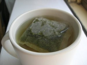 green tea for skin