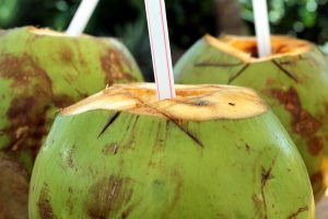 Coconut water for stomach upset