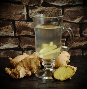 Ginger tea - home remedies for stomach pain