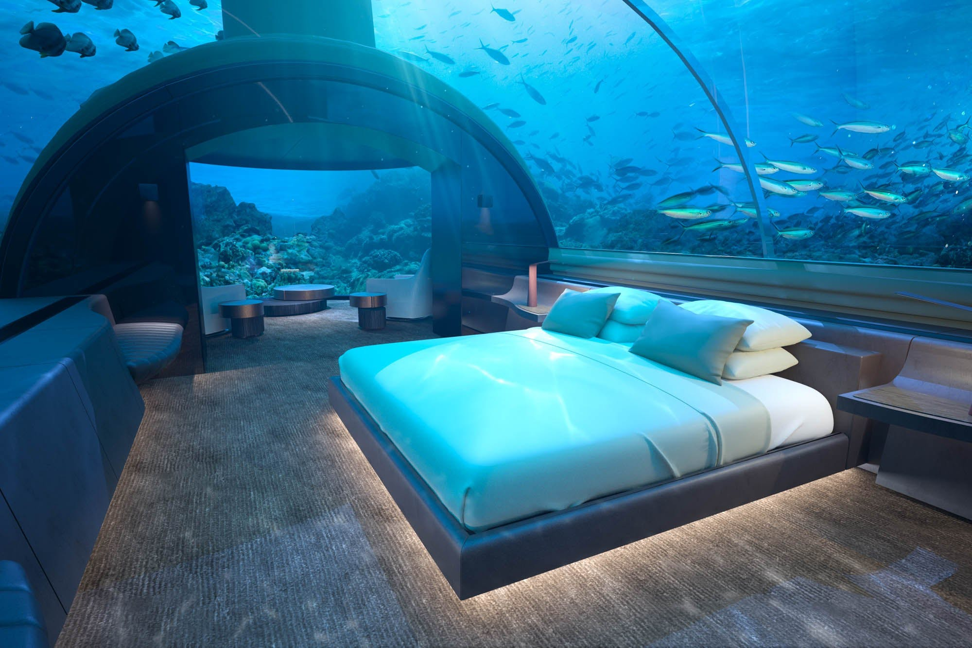Top 8 Underwater Hotel in the World