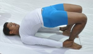 yoga for weight loss Shoulder stand