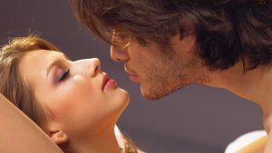 jawline kiss
