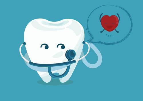teeth affect the heart