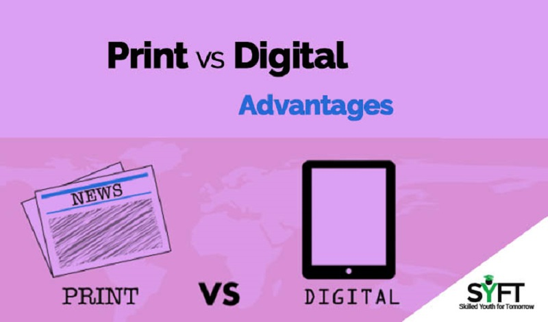 Advantages of Print Media over Electronic Media