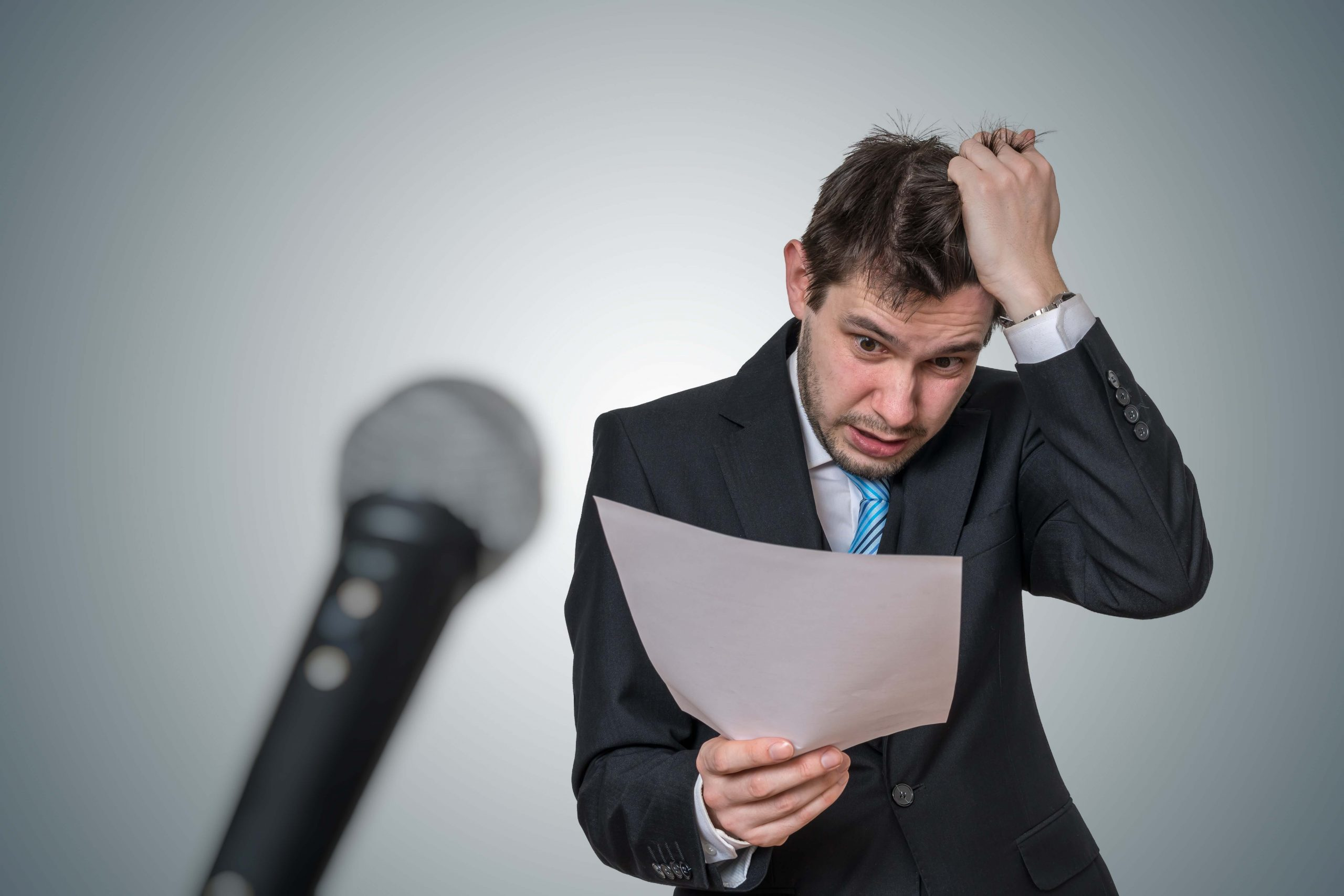 Top Tips to Get Rid of Public Speaking Anxiety