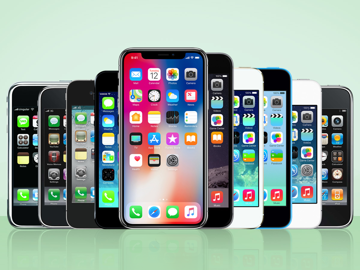 Most Popular iPhones Over the Years