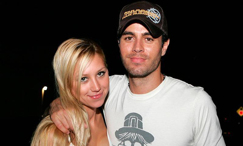 Enrique with wife Anna