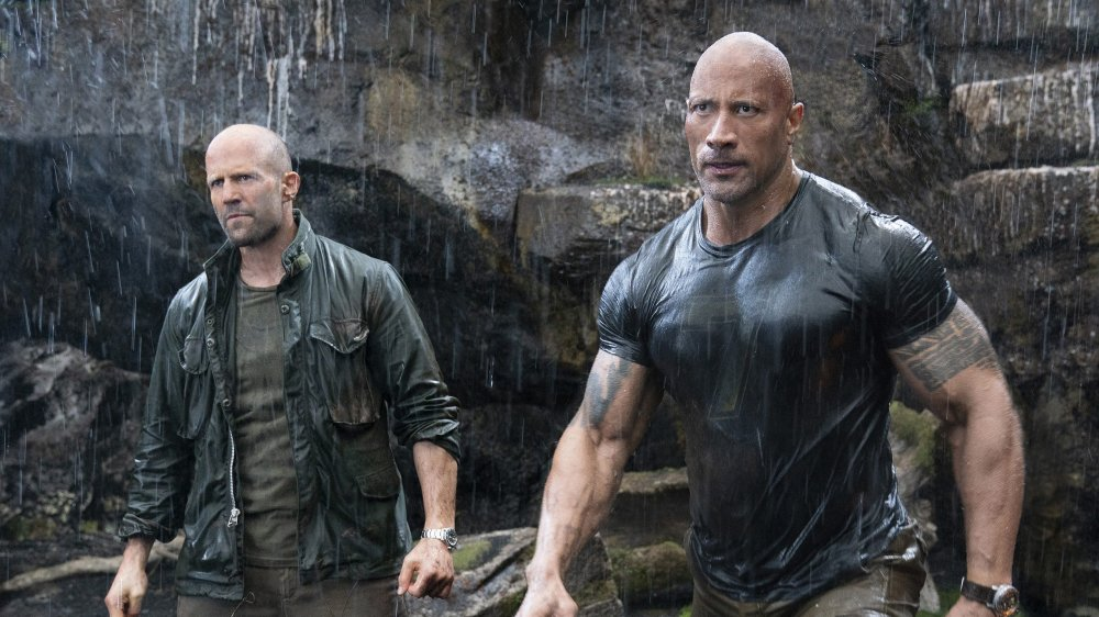 Jason Statham and Dwayne Johnson