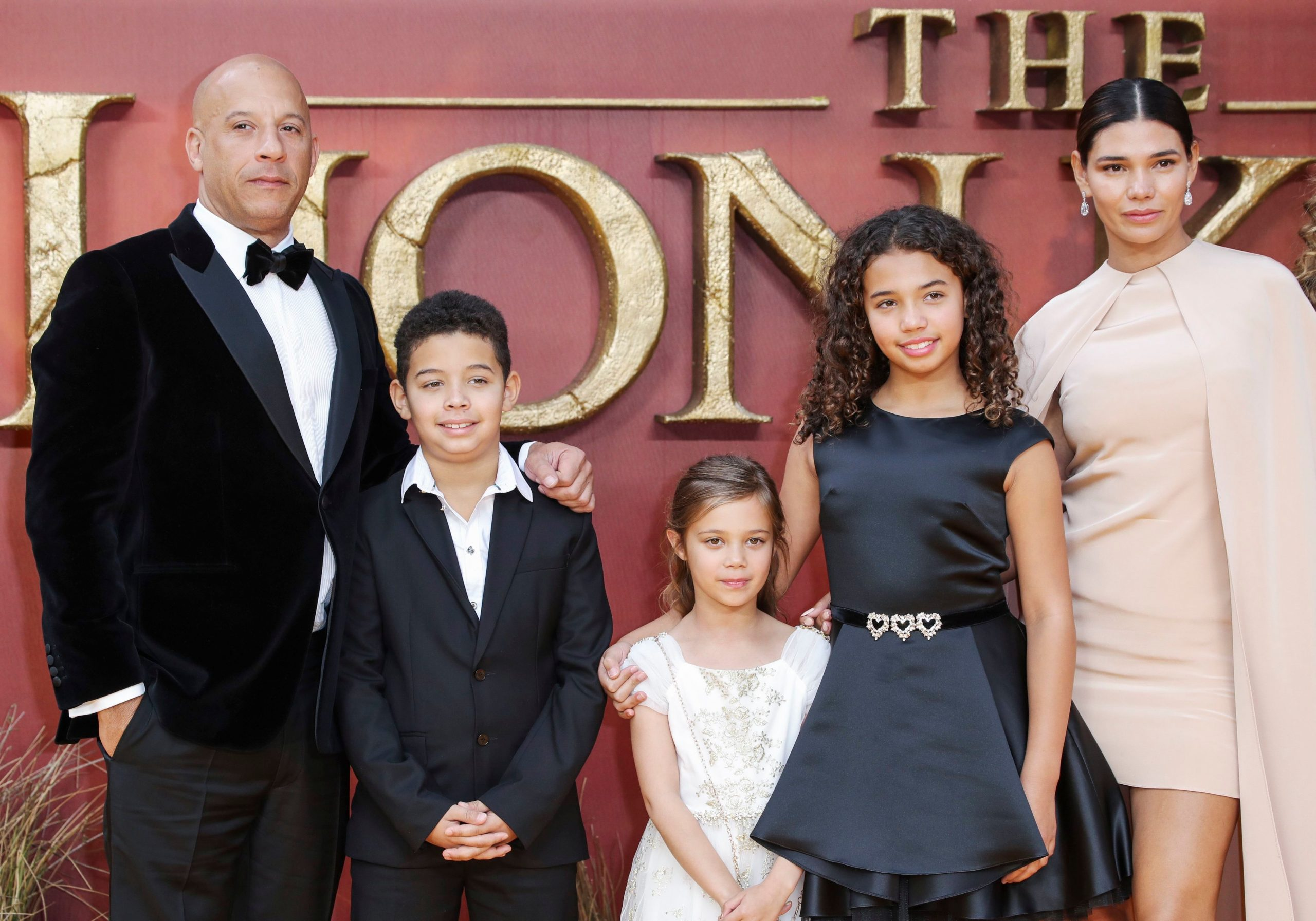 vin diesel with family