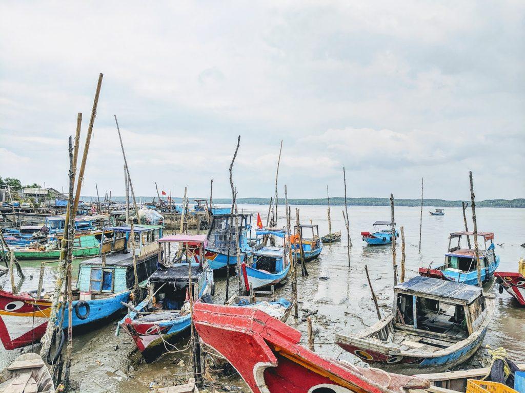 Can Gio fishing boats