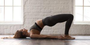 Pelvic Tilt Exercises as stretches for lower back pain