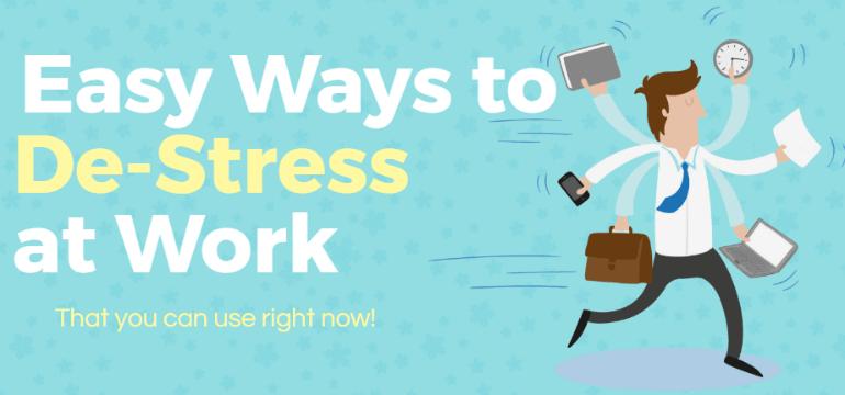 5 Ways to De-Stress After Work