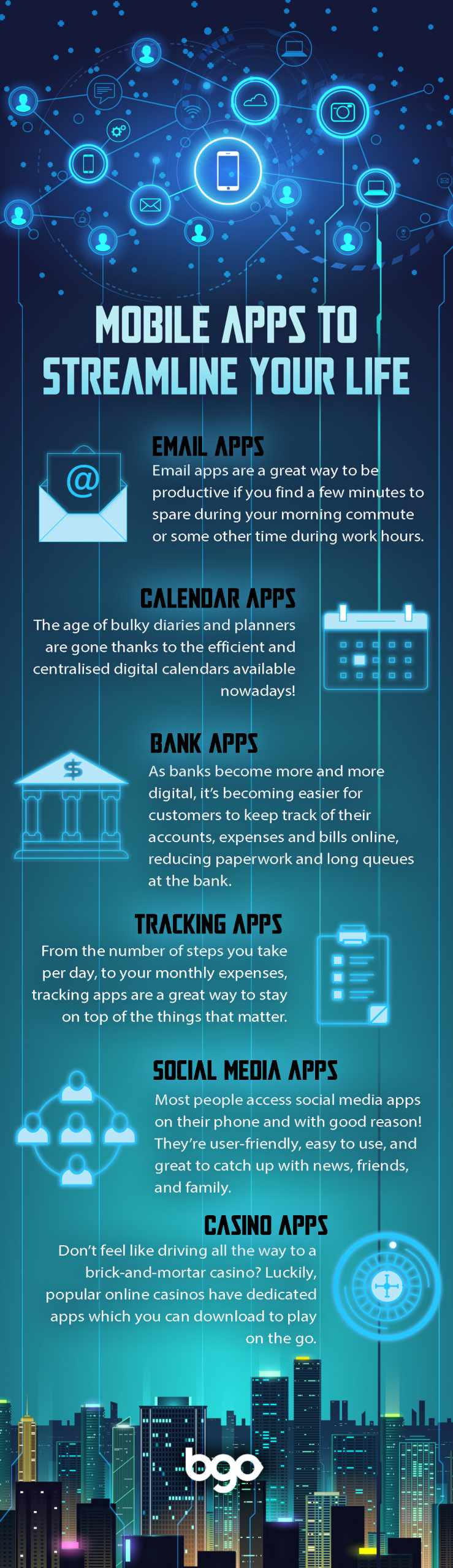 6 mobile apps to streamline your life