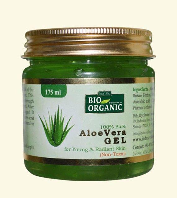 indus valley bio organic aloe vera gel