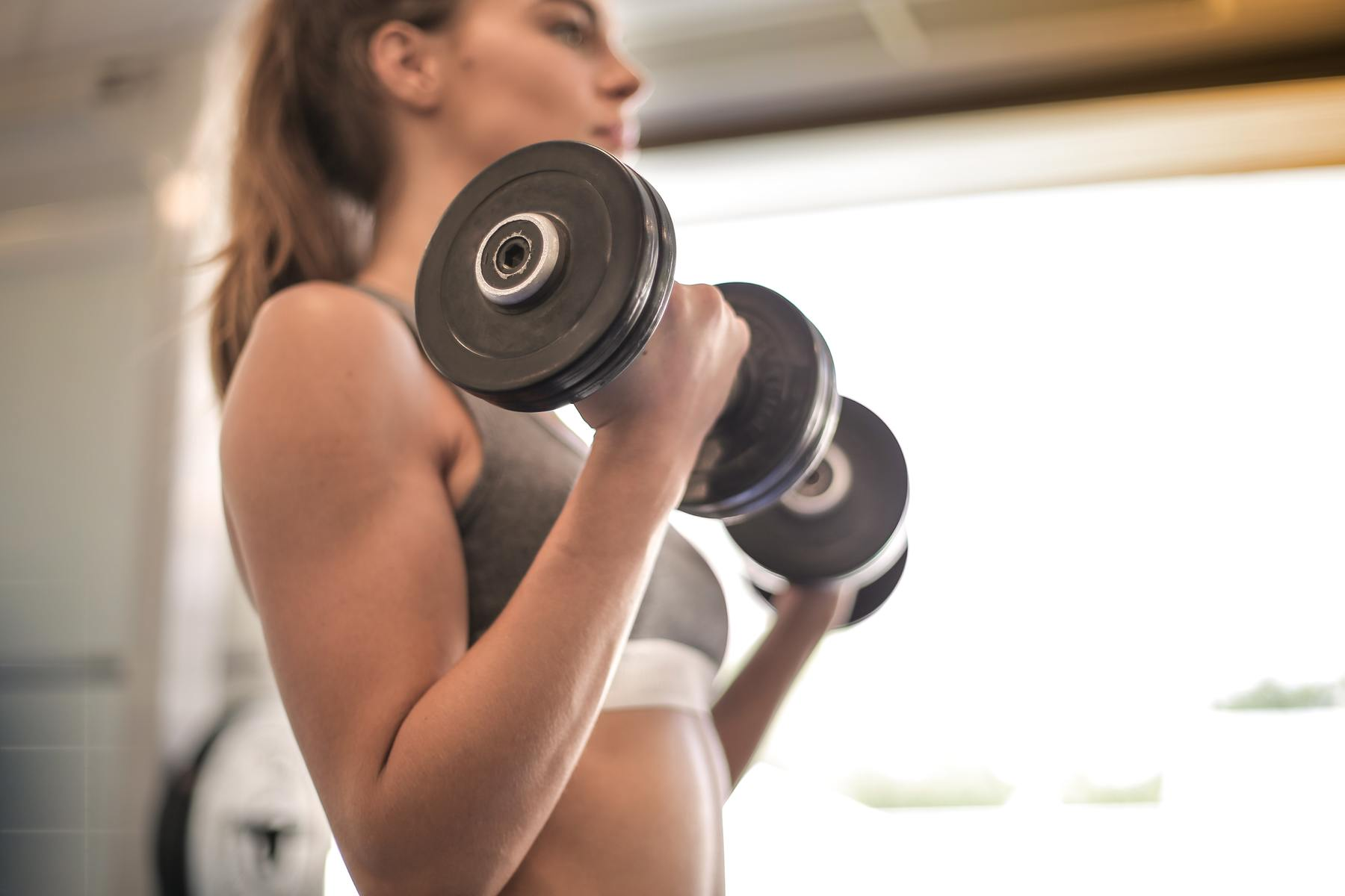 Bicep Exercises at Home With Dumbbells and Without