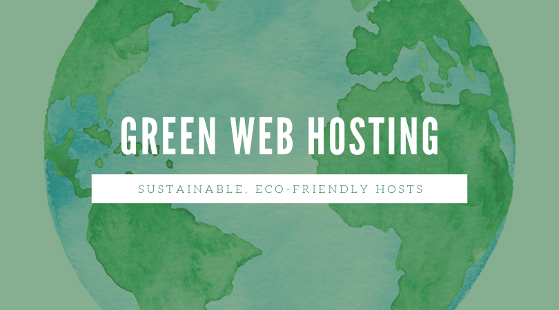 How do green web hosting companies protect the environment?